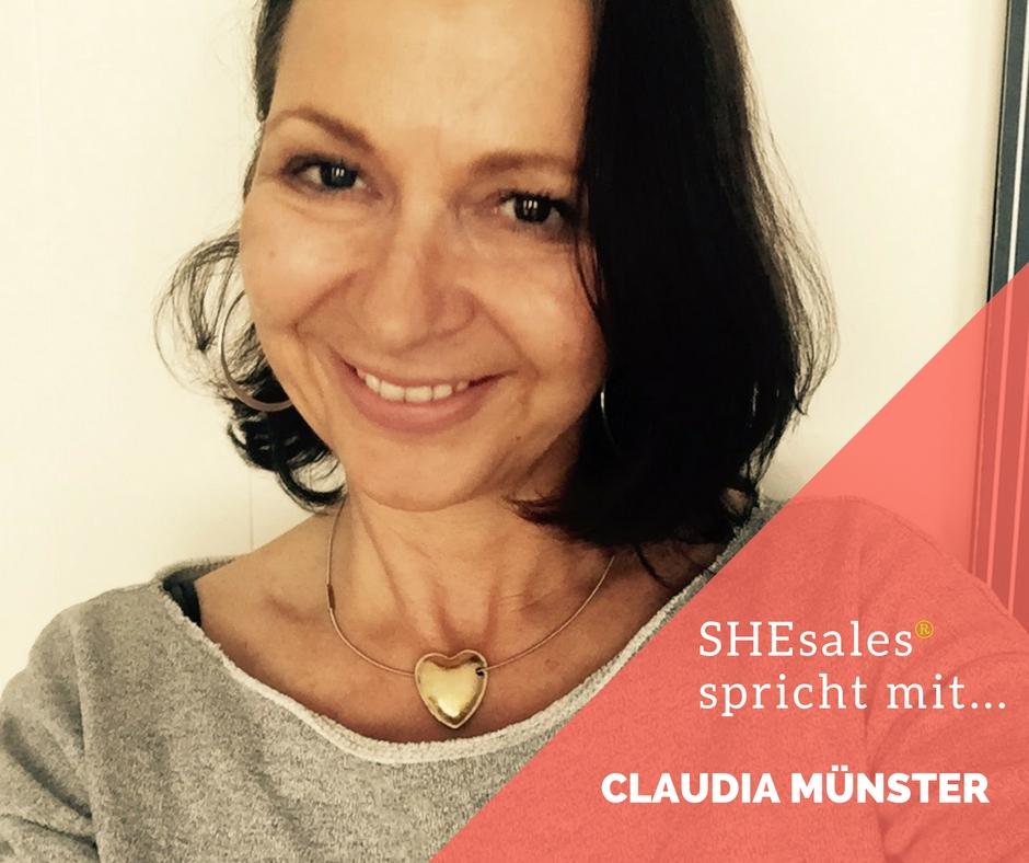 SHEsales spricht mit … Claudia Münster