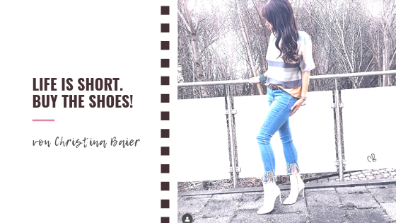 Life is short. Buy the shoes! (Mindset)