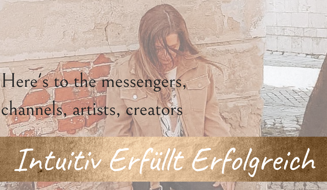 Here's to the messengers, channels, artists, creators